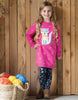Frugi Sweat-Kleid Eloise Jumper mit Fuchs-Applikation