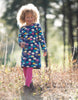 Frugi Rita Reversible Dress Bright Scandi Skies