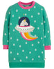 Frugi Eloise Jumper Dress Unicorn - Indie Exclusive