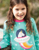 Frugi Eloise Jumper Dress Unicorn - Indie Exclusive Frugi Sweat-Kleid Eloise Jumper Unicorn - Indie Exclusive