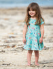 Frugi Skater Kleid St Agnes Mermaid Magic