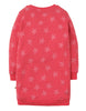 Frugi Sweat-Kleid Eloise Jumper Coral Starfish Spot