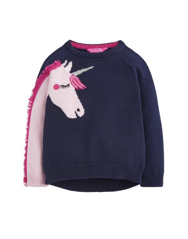 Tom Joules Pullover Geegee French Navy Horse