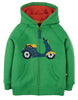 Frugi Lucas Zip Up Hoody -  Glen Green Bike