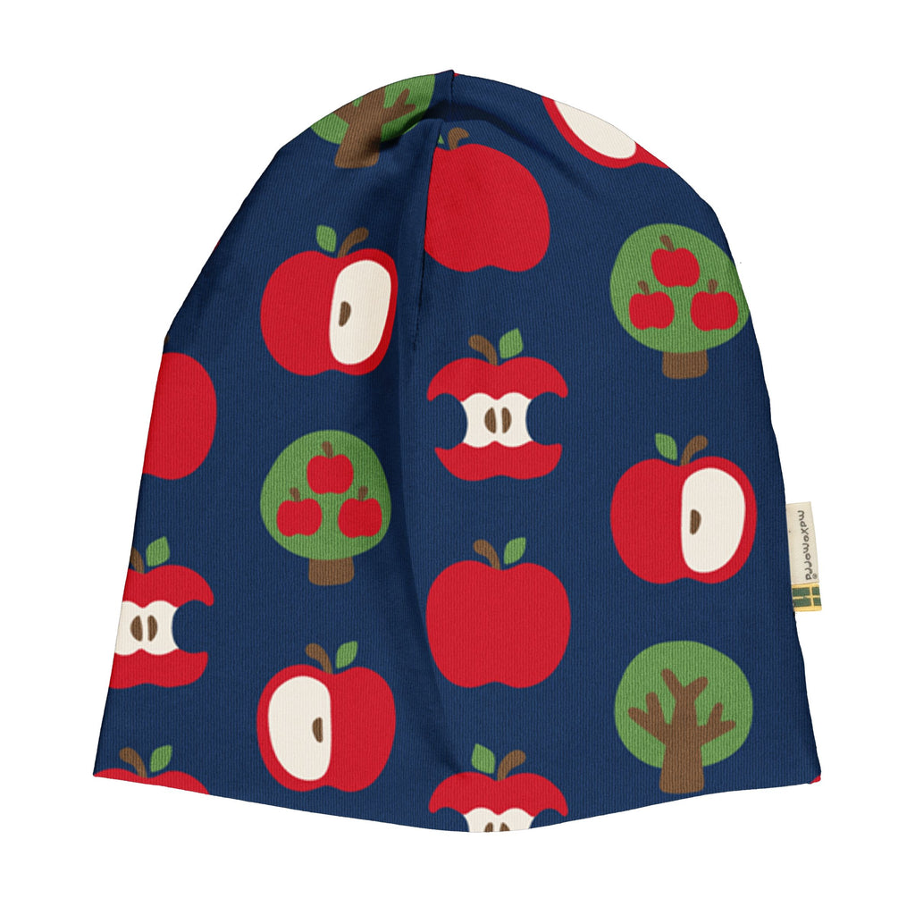 Maxomorra - Beanie Mütze Velour APPLE