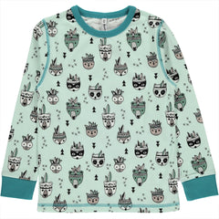 Maxomorra Langarm-Shirt Animal Mix