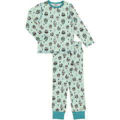 Maxomorra Pyjama Set Animal Mix