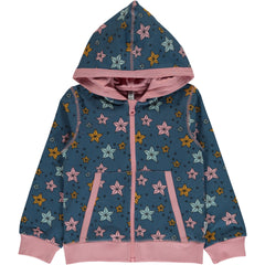 Maxomorra Kapuzenjacke NIGHT SPARKLE