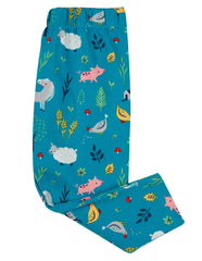 Libby Printed Leggings Farmyard