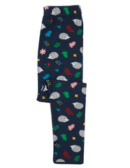 Frugi Libby Printed Leggings Hedgehogs