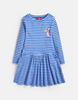 Tom Joules Kleid Blue Cream Stripe