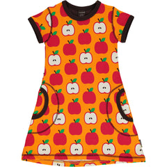maxomorra Kleid SS CLASSIC APPLE