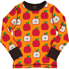 maxomorra Shirt langarm CLASSIC APPLE