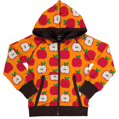 maxomorra Cardigan Hood  CLASSIC APPLE