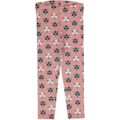 maxomorra Leggings BLUEBERRY BLOSSOM