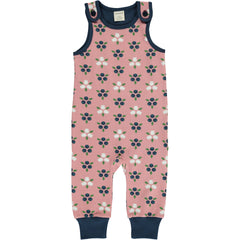 maxomorra Playsuit BLUEBERRY BLOSSOM
