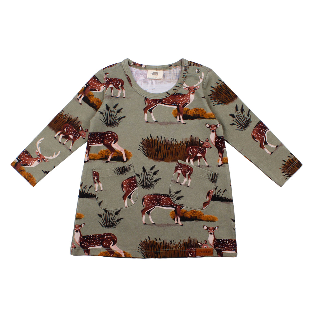 Walkiddy - Tunkia Kleid Deer Family