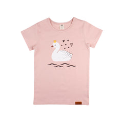 Walkiddy - T-shirt Princess Swans