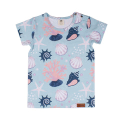 Walkiddy - T-shirt Shells Pearls