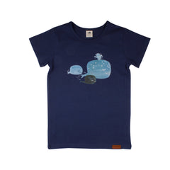 Walkiddy - T-shirt Baby Whales