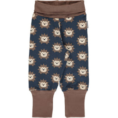 maxomorra Hose IGEL - Pants Rib HEDGEHOG