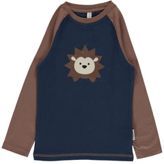 maxomorra langarm shirt IGEL - HEDGEHOG