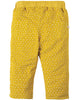 Frugi Little Cally Cord Trouser Gorse Speckle Spot