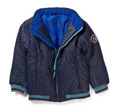 Herbst-Winter Jacke Light Weight Boy Jacket in blau
