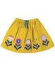 Frugi Tabby Twirly Skirt Gorse Speckle Spot Flowers
