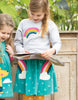 Frugi Tabby Twirly Skirt Rainbow
