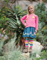 Frugi Twirly Dream Skirt Space Voyage