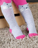 Frugi Friendly Face Arctic Fox Langsocken mit Tiergesicht