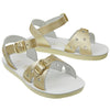 Salt-Water wasserfeste Kinder-Sandale Sweetheart Gold Gr. 20-31