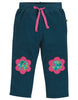 Frugi Little Cord Patch Trousers Flower