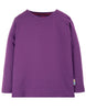 Frugi - Everyday Long Sleeve Tee Thistle