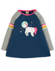 Frugi Suzie Swing Tee Space Blue/Unicorn - Indie Exclusive!