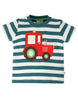 Frugi Shirt mit Traktor - Little Wheels Applique Top
