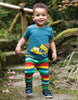 Frugi Shirt Truck - Scout Applique Top