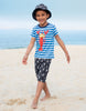 Frugi Shirt - Sid Applique T-Shirt