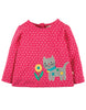 Langarmshirt CONNIE CAT in pink
