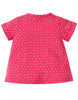Kurzarm-Shirt Chipmunk in pink von Frugi