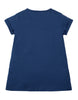 Frugi Sophie Applique Top Marine Blue