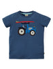 Frugi Kurzarm-Shirt Stanley mit Surfertruck Applikation