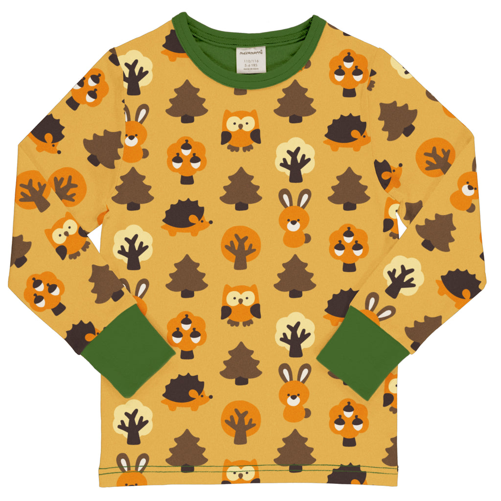 Maxomorra - Langarmshirt YELLOW FOREST