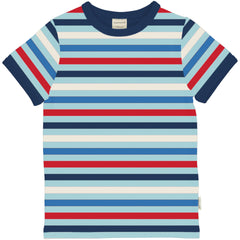 Maxomorra - T-Shirt STRIPE ICE