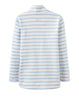 Sweatshirt FAIRDALE gestreift in hellblau/creme