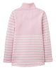 Sweatshirt Half Zip FAIRDALE in rosa