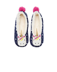 Tom Joules Hausschuhe Slippers Unicorn