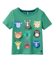 T-Shirt CHOMPER ANIMALS mit 3D-Applikationen