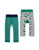 Tom Joules 2-er Pack Strick-Leggins Dinosaurier